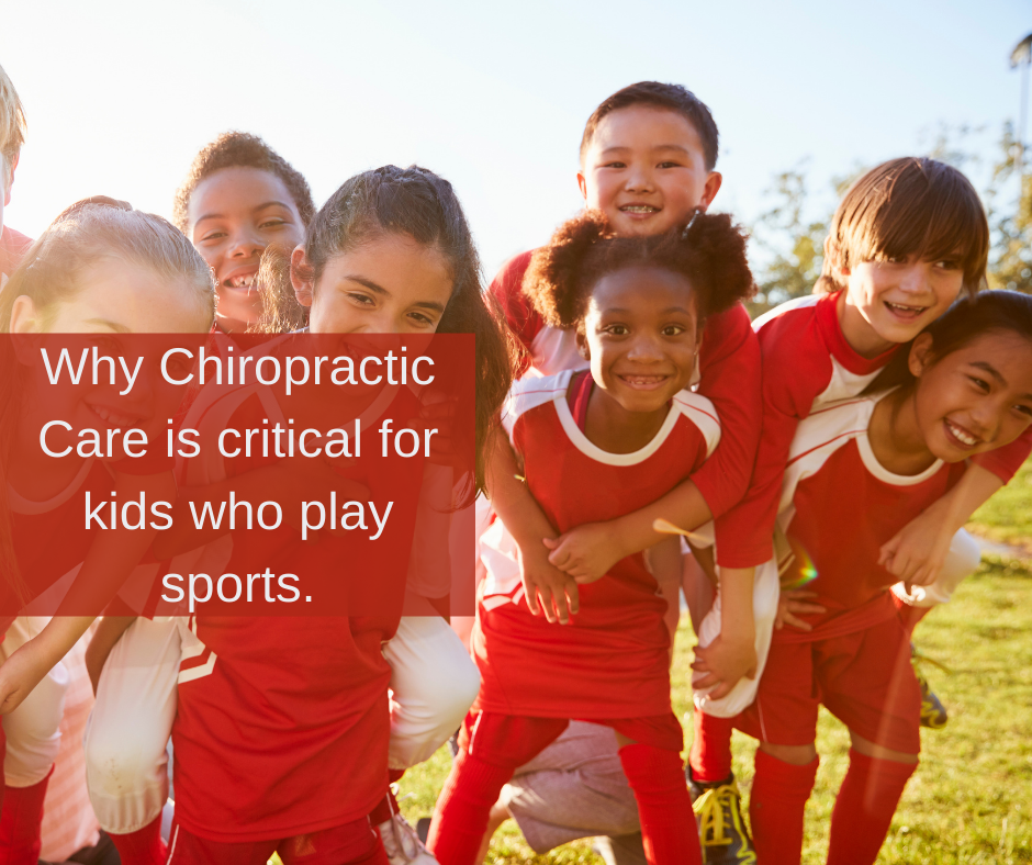 Why Chiropractic Care is critical for kids who play sports